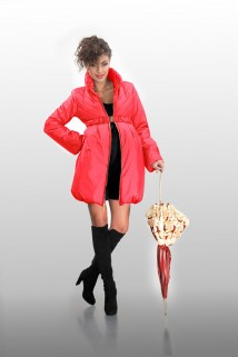 Coral dot silicone jacket