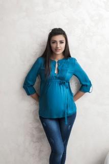 Dark turquoise blouse